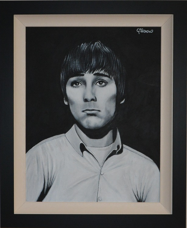 Keith Moon Gilson portrait